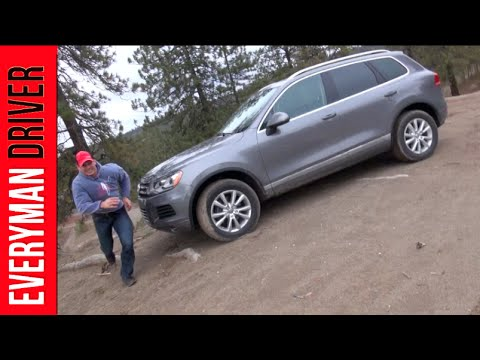 Car Review Blooper: 2014 Volkswagen Touareg TDI on Everyman Driver