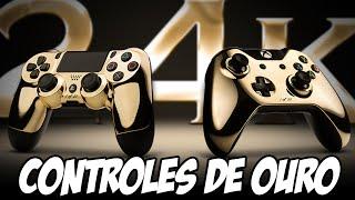 Controles de OURO de PS4 e XBOX ONE, OSTENTAÇÃO