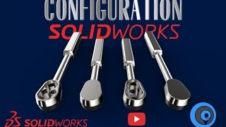 SolidWorks Tutorial Indonesia #046 (Eng Sub) - SolidWorks Configuration 'Ratchet'