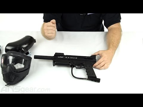 JT Raider Ready To Play Paintball Gun Kit - Review