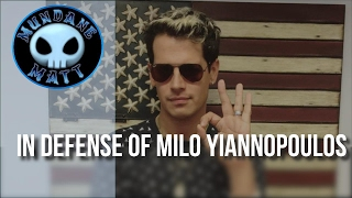 [News] In defense of #Milo Yiannopoulos