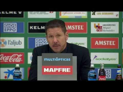 Mario Mandzukic trifft, Atleti siegt, Diego Simeone schwärmt | FC Elche - Atletico Madrid 0:2