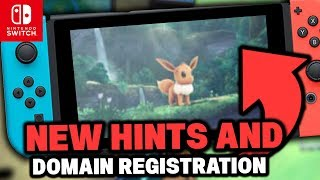 Pokémon Switch NEW! CHANGES TO DOMAINS AND MORE! Pokémon Let's GO Pikachu & Let's GO Eevee!