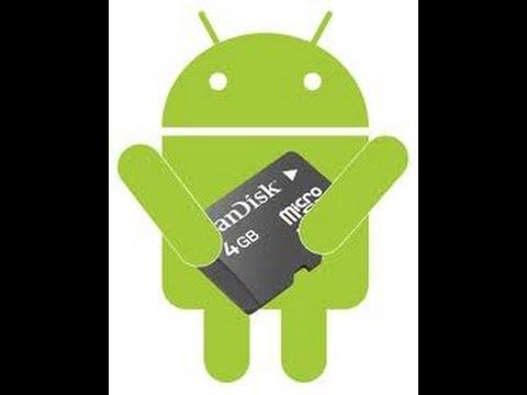 como pasar aplicaciones a la sd card en el galaxy young