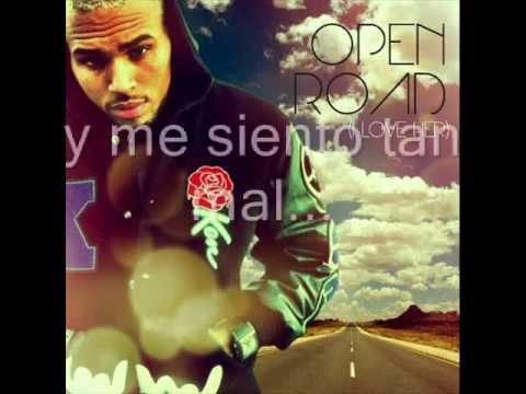 Chris Brown - Open Road Español video