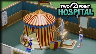 Curing the Clowns – Two Point Hospital Gameplay – Let's Play Part 6