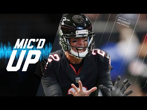 "Matt Ryan Mic'd Up vs. Bills ""Did You See Me Fall?"" 