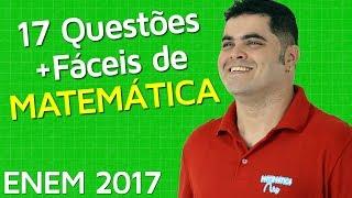 download musica 🚨 ENEM 2017 🔴 17 Questões de Matemática MAIS FÁCEIS do ENEM 2017 👉 Matemática Rio