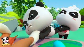 Baby Panda valt in de kristallengrot | Magische Chinese personages | BabyBus