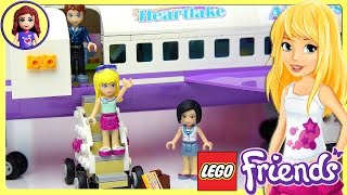Lego Friends Heartlake City Airport Set Unboxing Building Review - Kids Toys