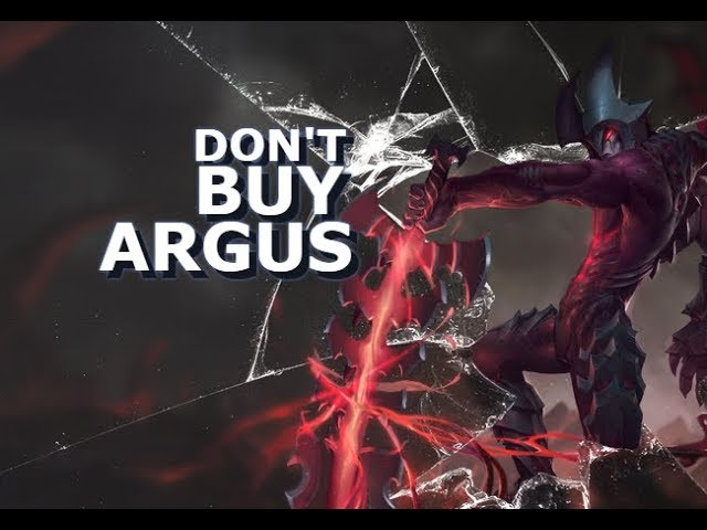 DON'T BUY ARGUS ! - Mobile Legends - Giveaway - Tips - Guide - Argus