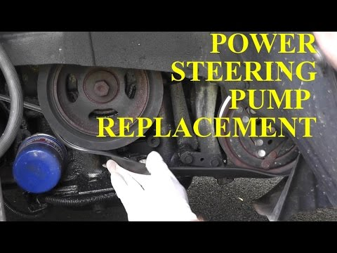 NIssan Maxima / Infiniti Power Steering Pump Replacement