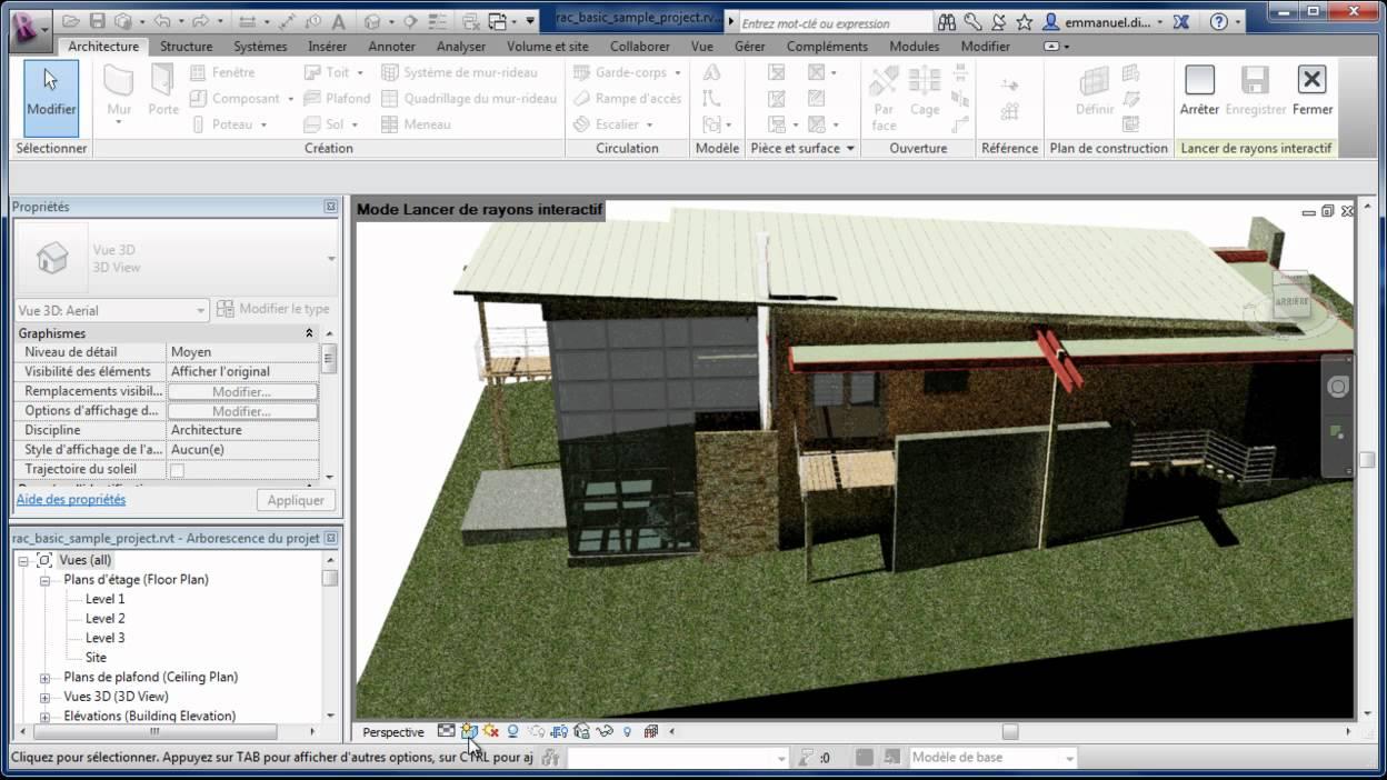 Autodesk Revit Architecture 2013 Nouveaut S Graphisme Et