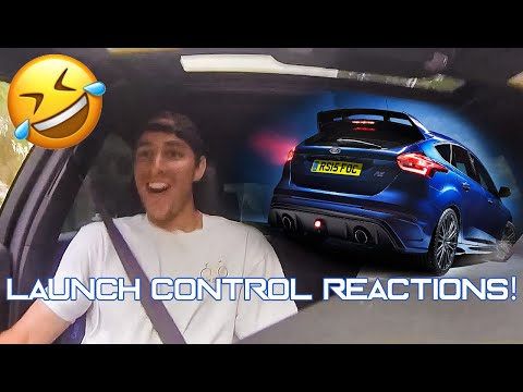 Hilarious Launch Control Reaction In Focus RS