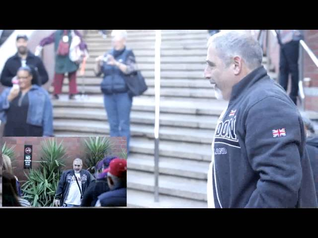 David's 50th Birthday Flash Mob - SF
