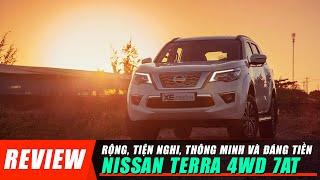 Đánh giá Nissan TERRA 4WD 7AT: Rộng, tiện nghi, thông minh và đáng tiền