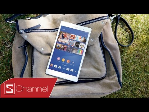 Schannel - Mở hộp Xperia Z3 Tablet Compact : Tablet 8