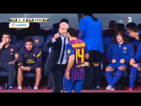 Barça 5 - Atlético de Madrid 0 (2-0 Miranda p.p.)