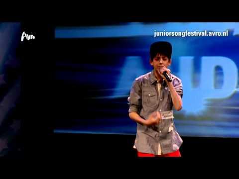 Junior Songfestival - Alessandro - Una Chica Especial - Finale Auditie (2012)