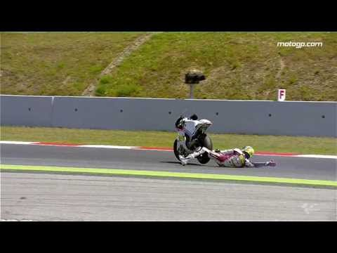 MotoGP™ Catalunya 2013 -- Best crashes