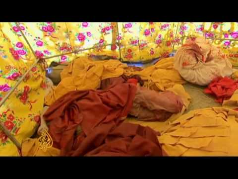 Monks hit hard by China earthquake