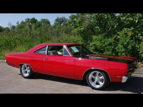 1969 Plymouth Road Runner 383 V8 Four-Speed Mopar Muscle Car