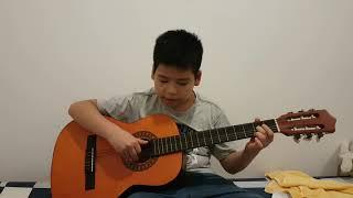 Cách đánh đồ rê mi fa son bằng guitar
