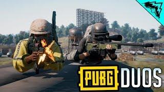 PUBG DUOS - Battlegrounds Gameplay w/ StoneMountain64 & 5tat