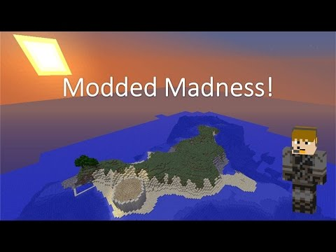 Modded Madness [e1s1] - Mining Ftw! video
