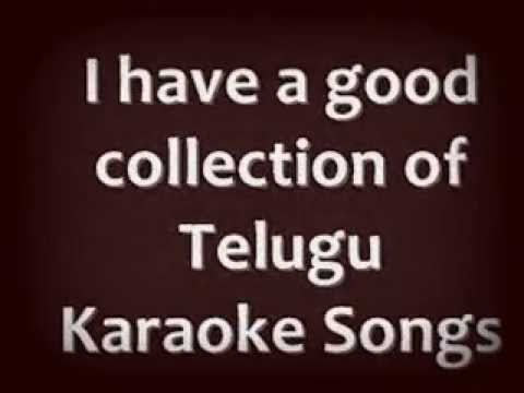 Telugu Karaoke Songs -- All Karaoke Songs video