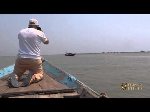 Harry Syed in Chilika lake, Puri, Odisha, India.