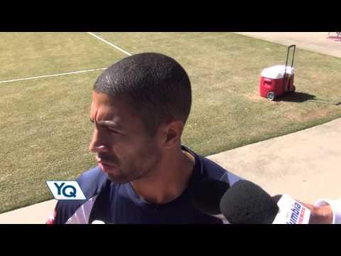 Alvaro Saborio afirma que siempre tiene que esforzarse mas para estar en la Selección