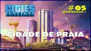 download musica 🌇🌆 Cities: Skylines Cidade de Praia - Gameplay Cities Skylines 05 Português PT-BR