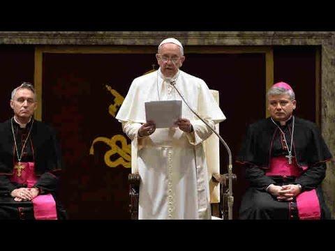 "Pope Francis' Christmas Address Blasts Church ""Spiritual Diseases"""