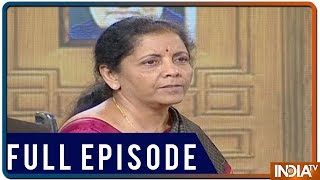 Defence Minister Nirmala Sitharaman in Aap Ki Adalat (2019)