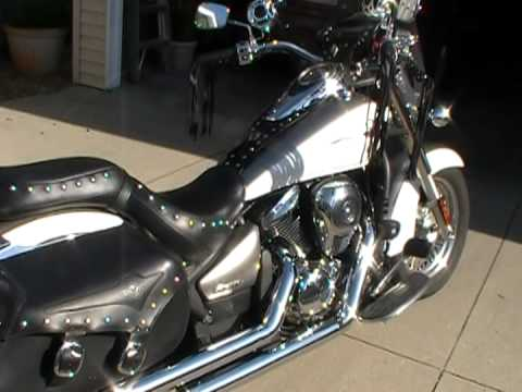 Kawasaki Vulcan 900 classic / with cobra dragsters exhaust