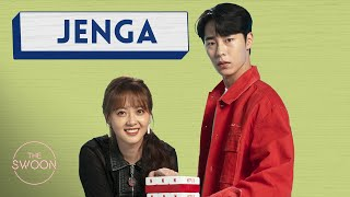 Download Go A-ra and Lee Jae-wook play Jenga [ENG SUB] Mp3/Mp4