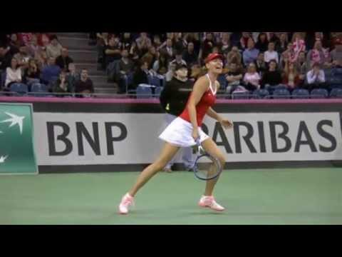 Highlights: Maria Sharapova (RUS) d. Agnieszka Radwanska (POL)