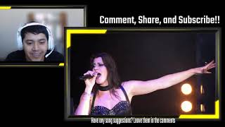 NIGHTWISH - Storytime (OFFICIAL LIVE VIDEO)   UN-EDITED REACTION!!