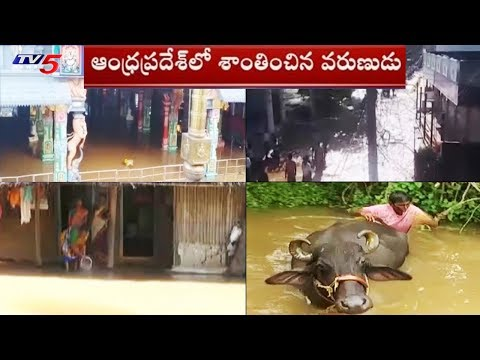 వర్షాలు తెరిపించిన.. వెంటాడుతున్న వరద కష్టాలు..! | Flood Problems in AP | TV5 News