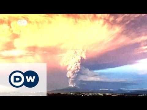 Calbuco ash and smoke sky-high in Chile   Journal