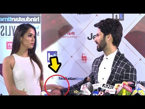 Shahid Kapoor FIGHTS Wih Wife Mira Rajput In Public During Padmavati Promotions At HT Awards