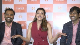 Kajal Aggarwal Media Interaction at Happi Mobile Store Launch Video | Tollywood Celebrity News