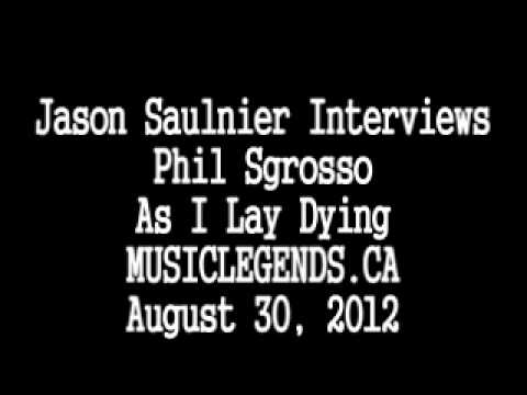 As I Lay Dying Interview - Phil Sgrosso