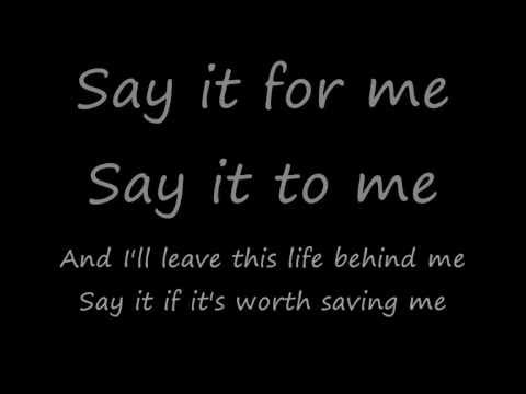 Nickelback - savin me(lyrics)