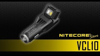 NITECORE VCL10 QuickCharge 3.0 USB Car Charging Adapter & Multi-Tool