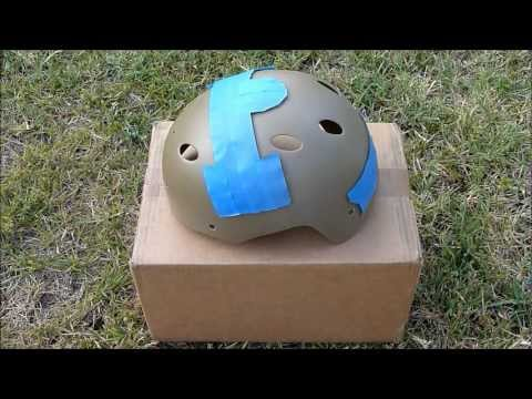 How To Paint A Helmet   Dusting Method