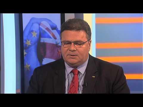 Interviu su užsienio reikalų ministru L. Linkevičiumi (INFO TV)