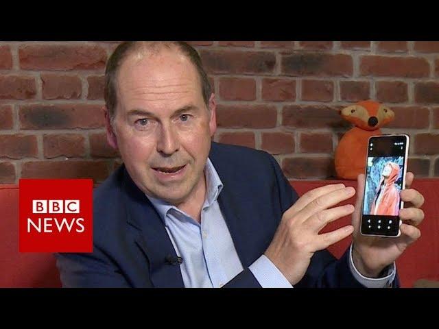 A brief tour of Google's Pixel 2 XL- BBC News