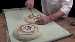 Stenciling on your bread